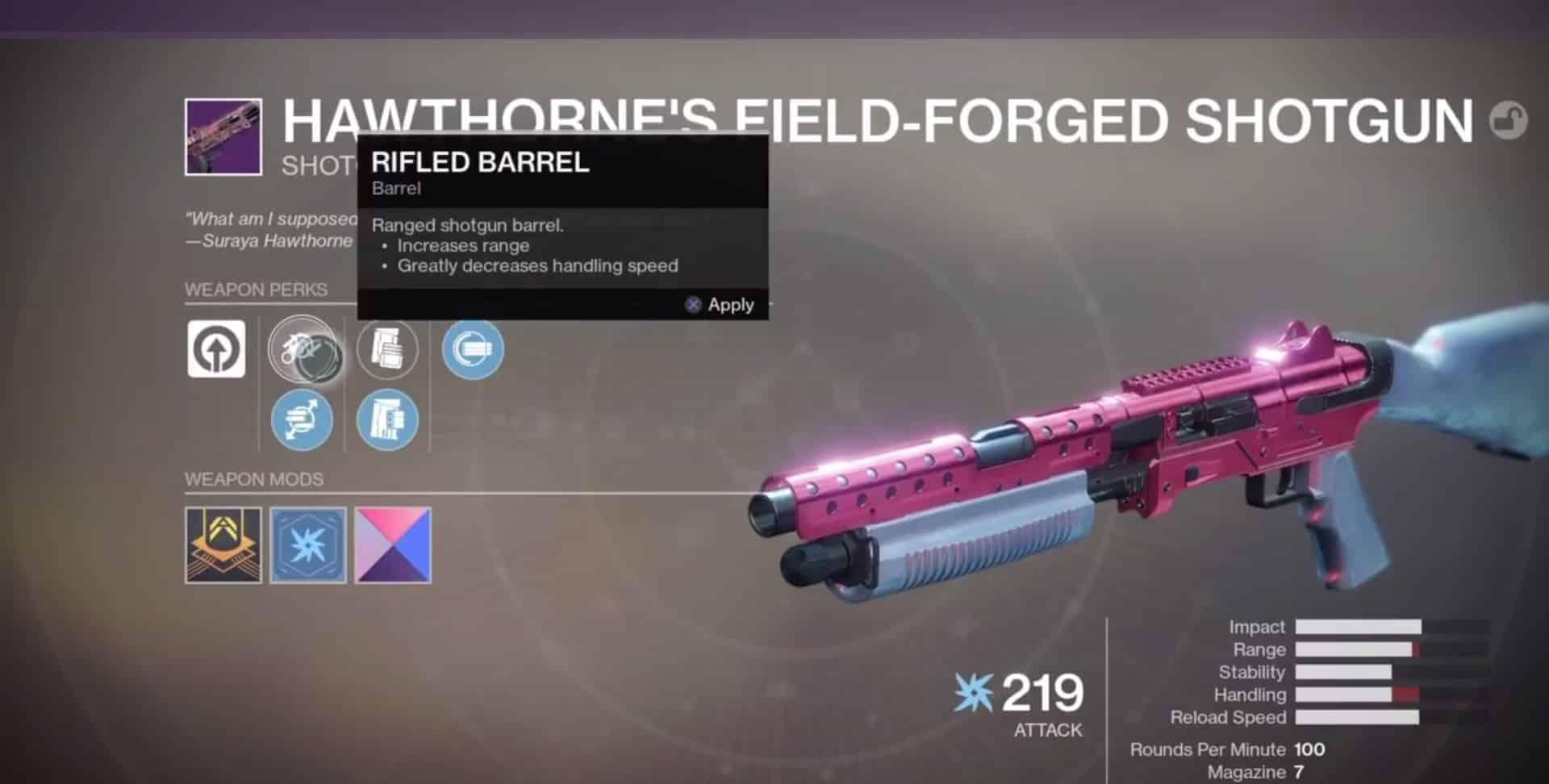 Hawthorne Legendary Field Forge-min - Destiny 2 Boosting