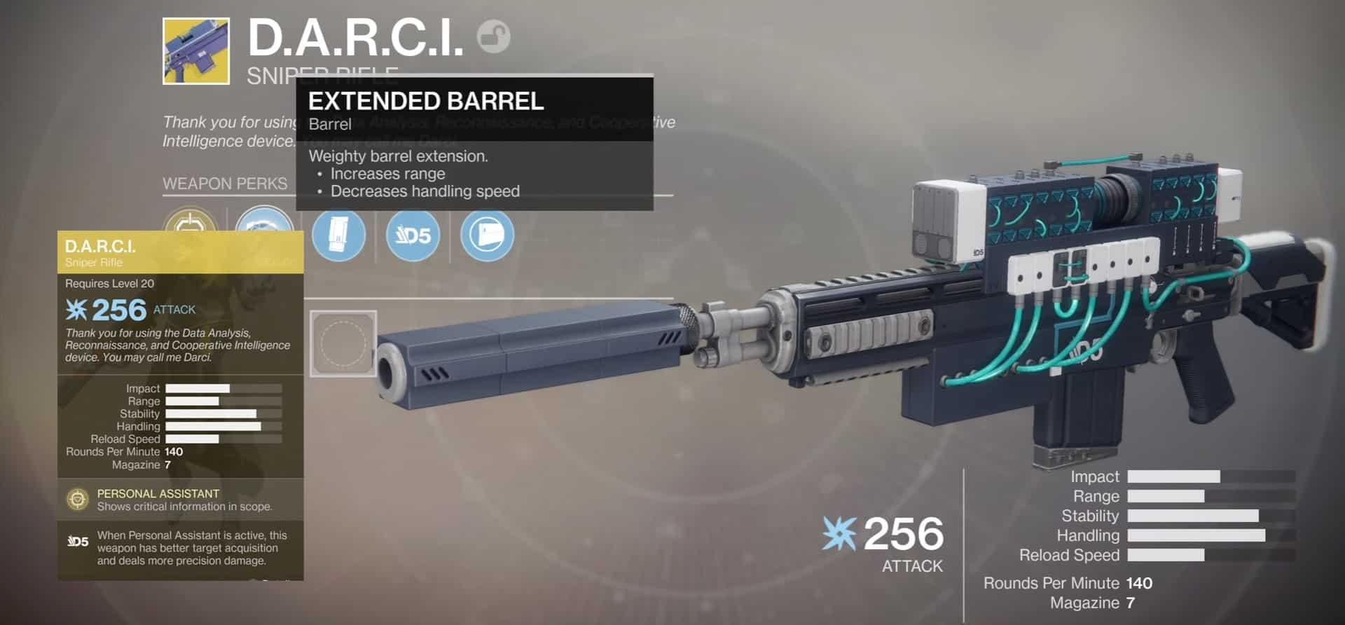 DARCI - Exotic Sniper