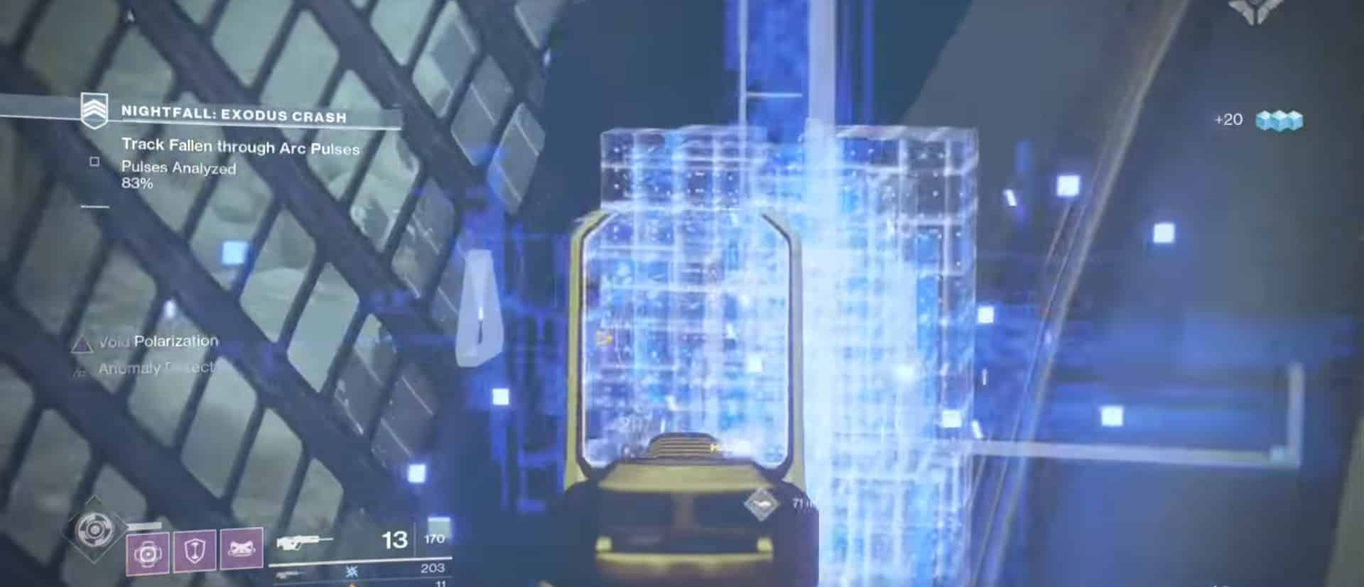 destroy anomalies 30 sec-min
