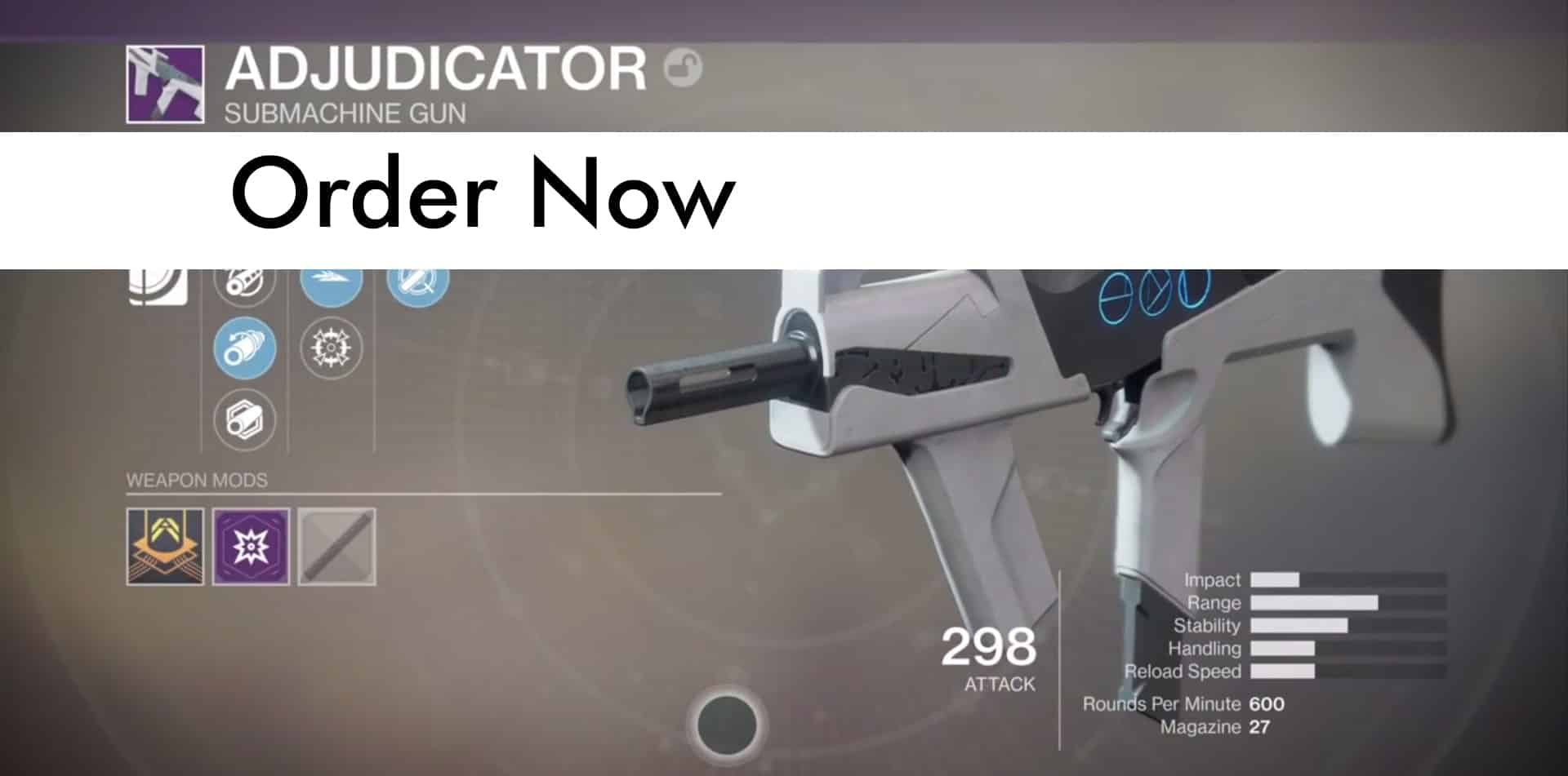 Adjudicator Best PvP Weapon