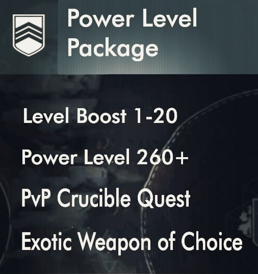 power level boost 260 custom package