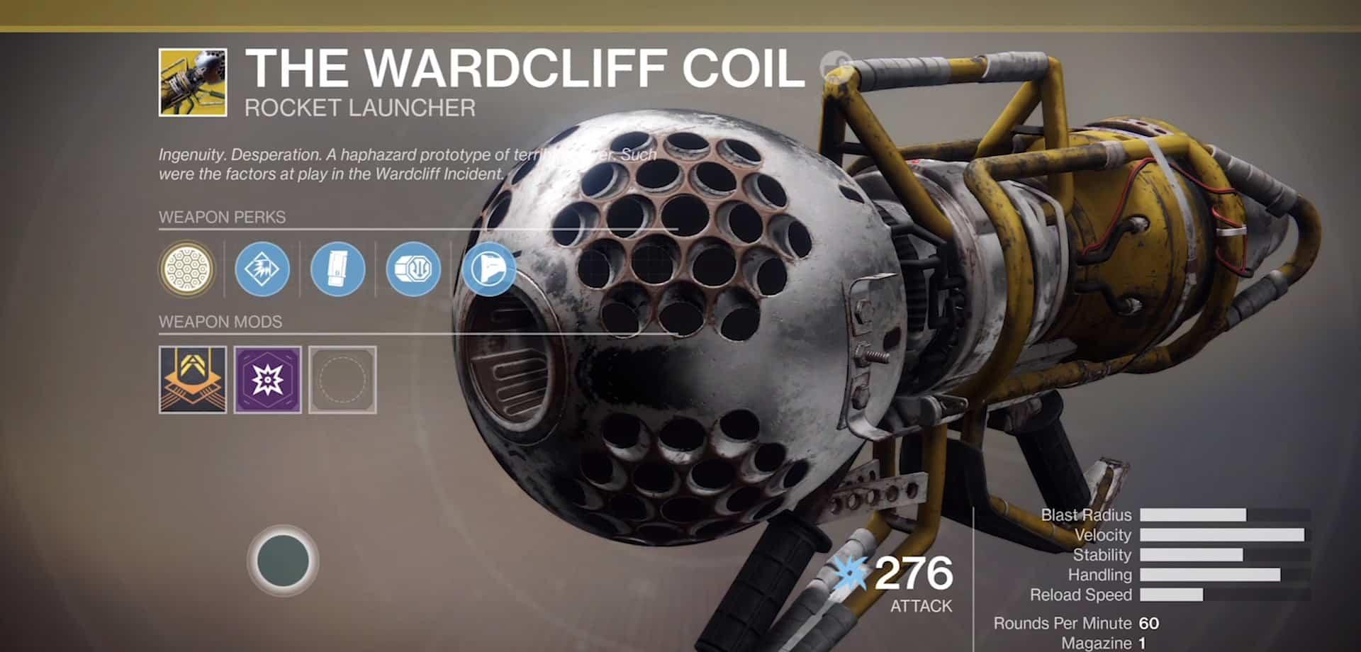wardcliff coil destiny 2 best aoe weapon