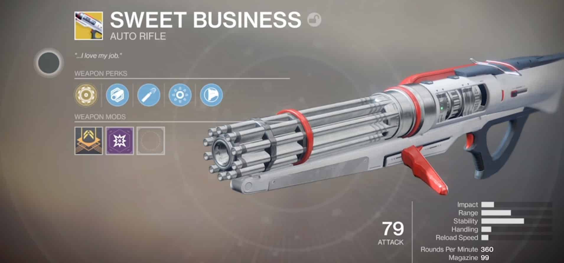 Destiny  Best Sentinel Sweet Business Build