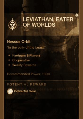 osiris raid details