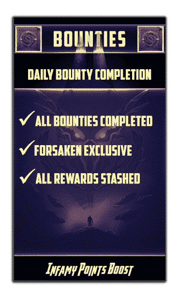 1 day bounties