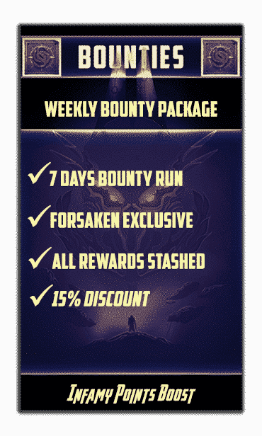 1 week bounties