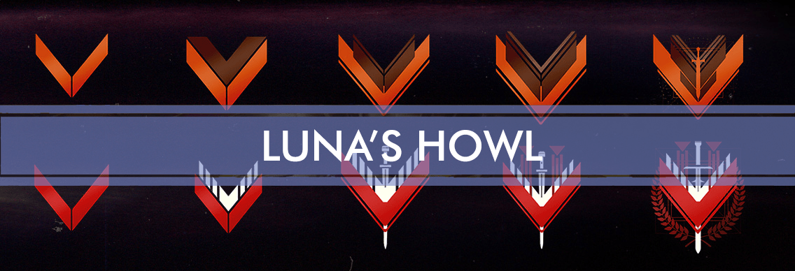 Destiny 2 Glory Rank Boost - Luna's Howl Carry, Forsaken exclusive