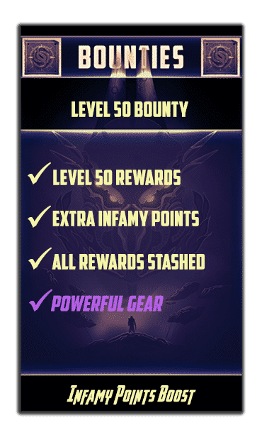 lvl 50 bounty