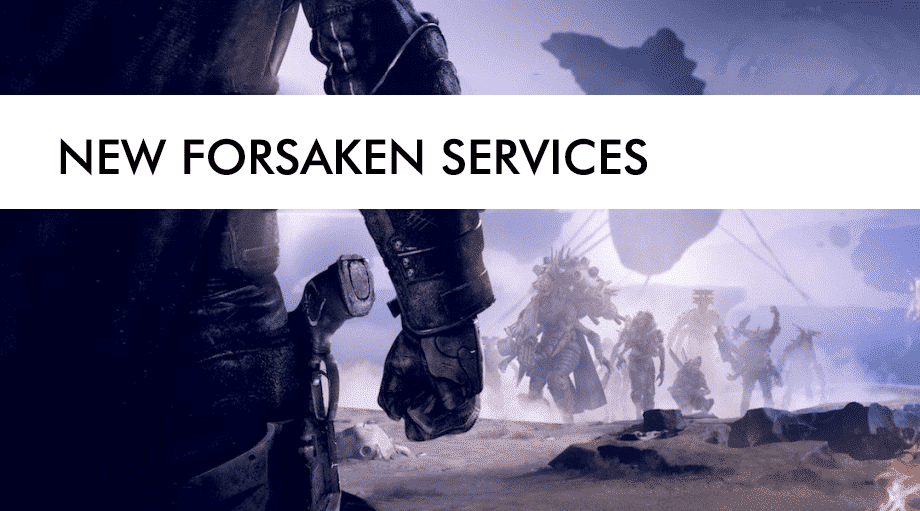 new forsaken services