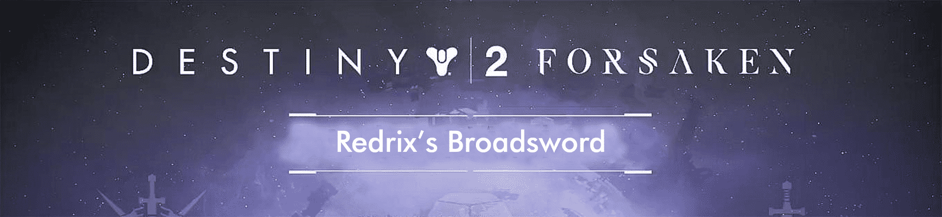 redrix broadsword carry recov