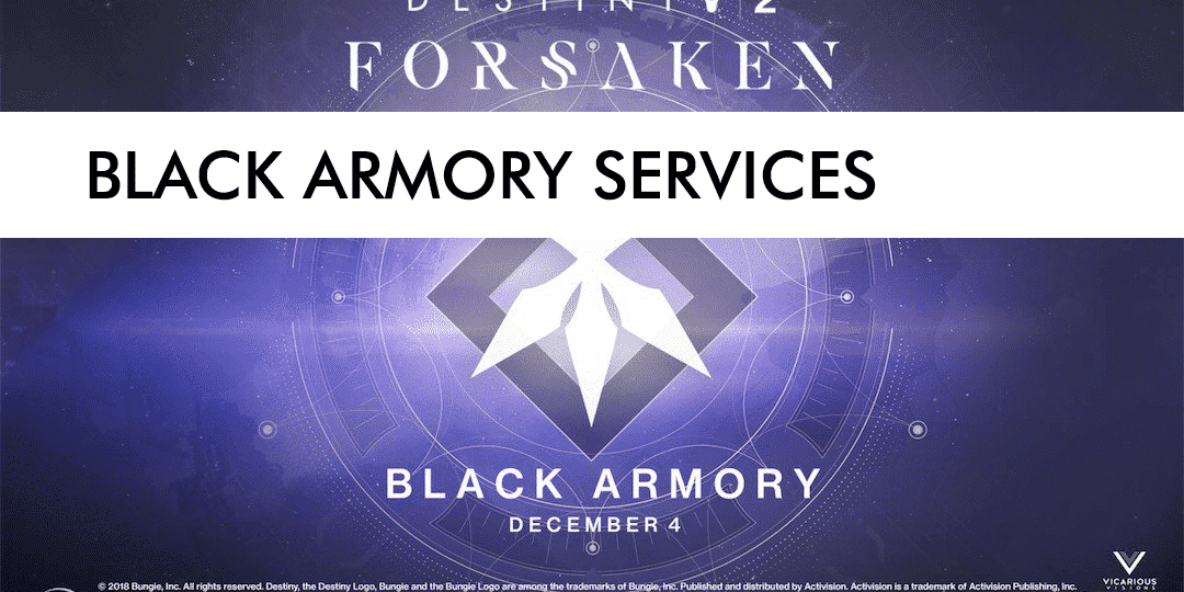 BLACK ARMORY new post