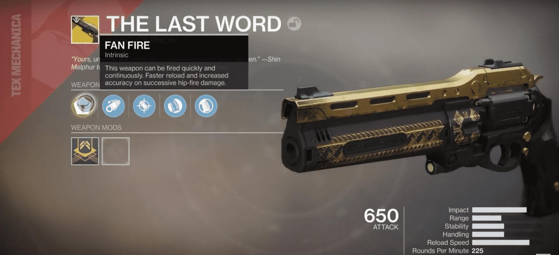 last word