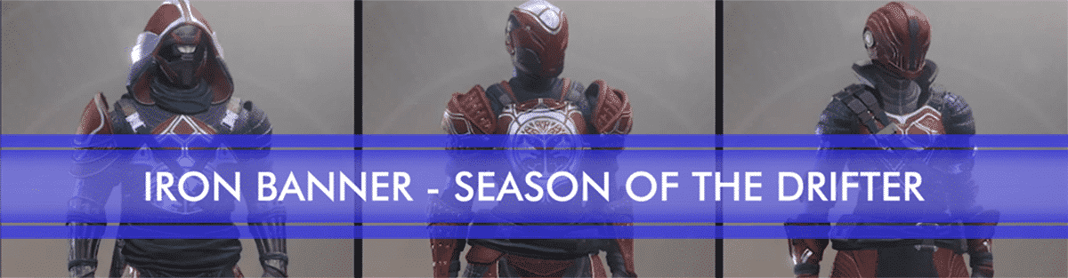 iron banner season of drifter