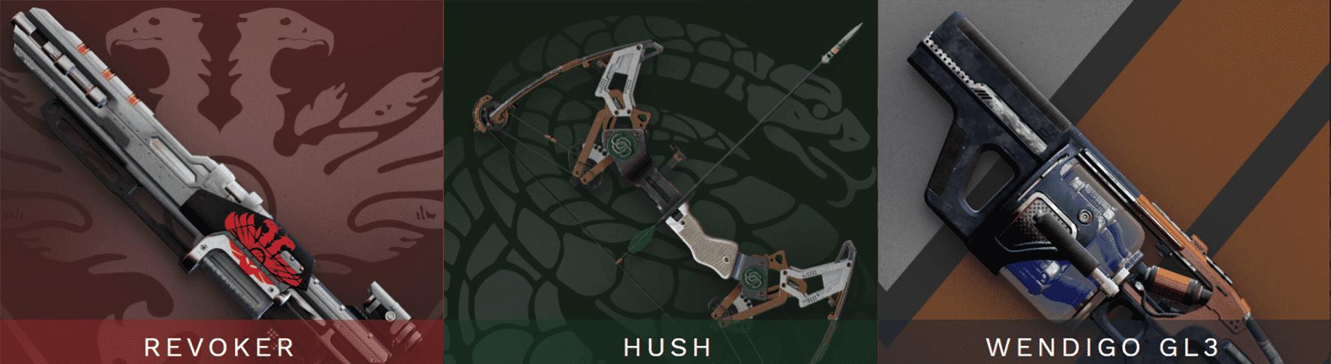 hush carry recov