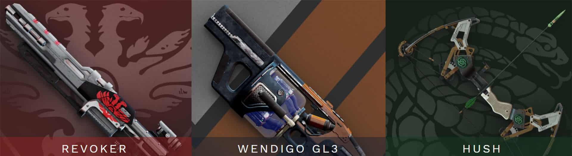 wendigo gl3 carry recov