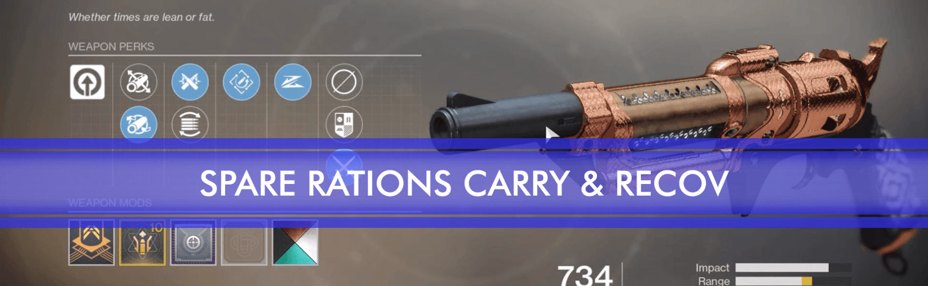 spare rations post