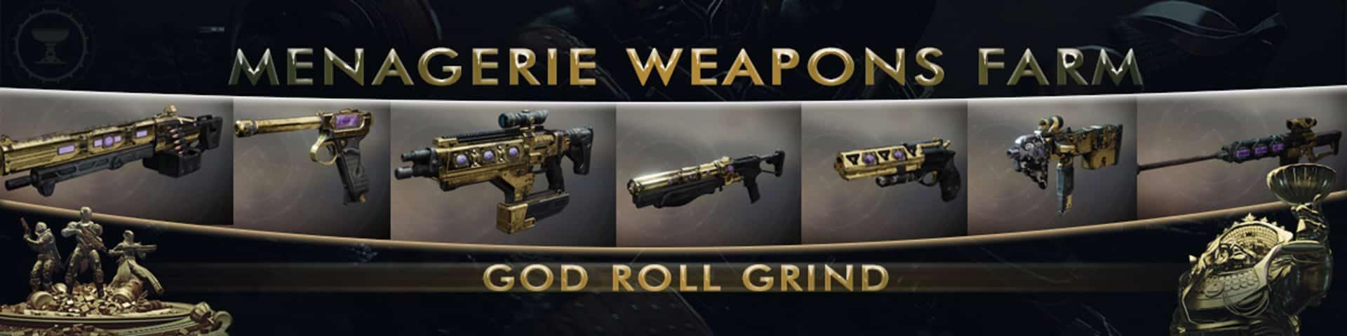 Destiny 2 Menagerie weapons farm 2