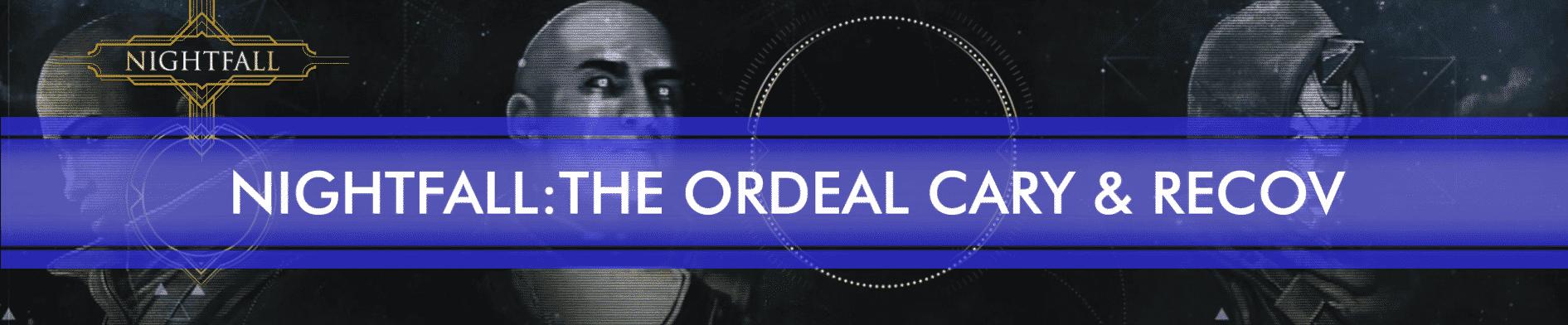 nightfall the ordeal