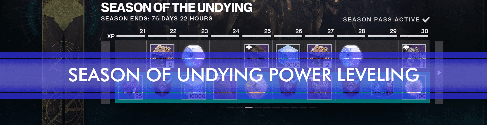 season of undying power level 1