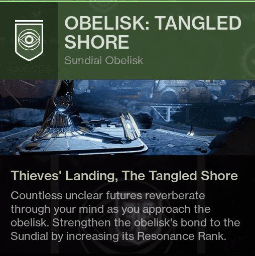 tangled shore ob