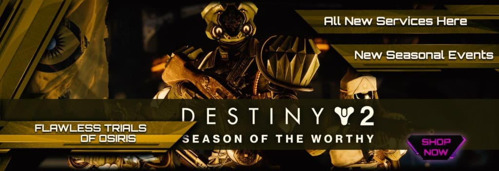 Destiny 2 Season of the Worthy Boosting services D2R
