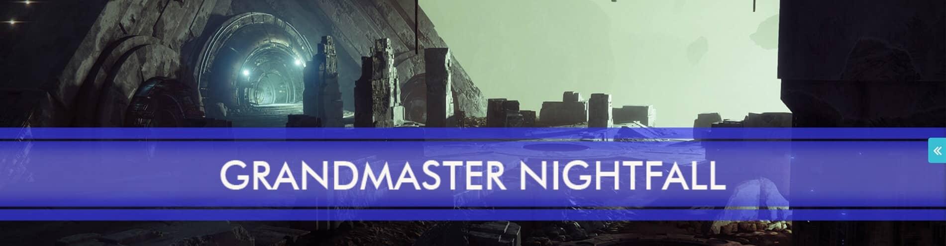 Destiny 2 raiding Grandmaster Nightfall Carries