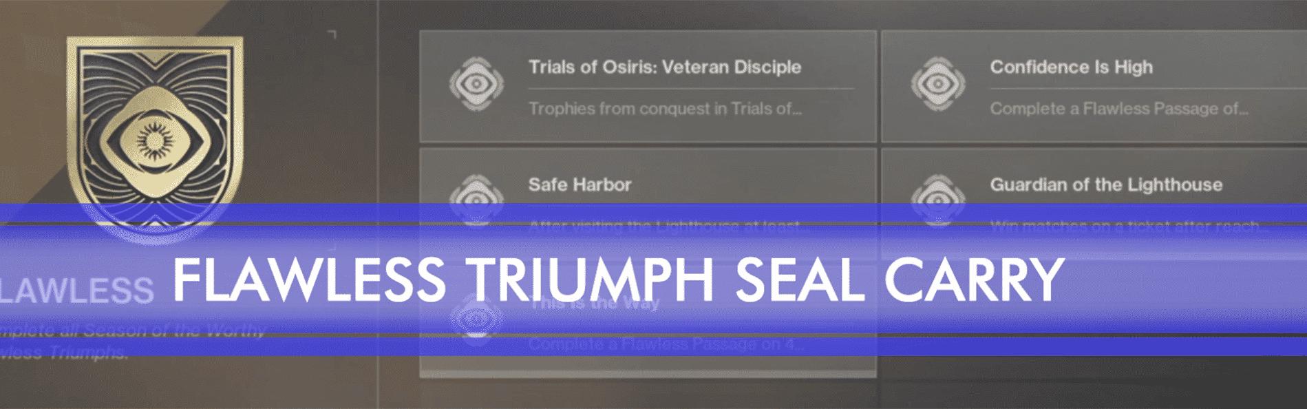 flawless triumph seal post img