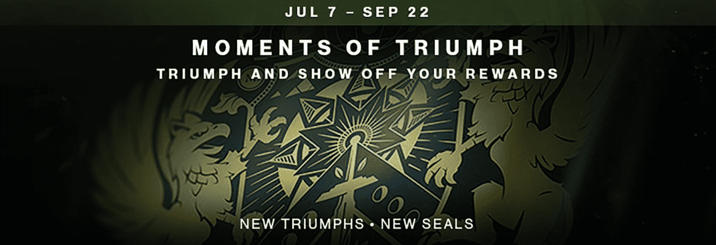 Destiny 2 Moments of Triumph Carries