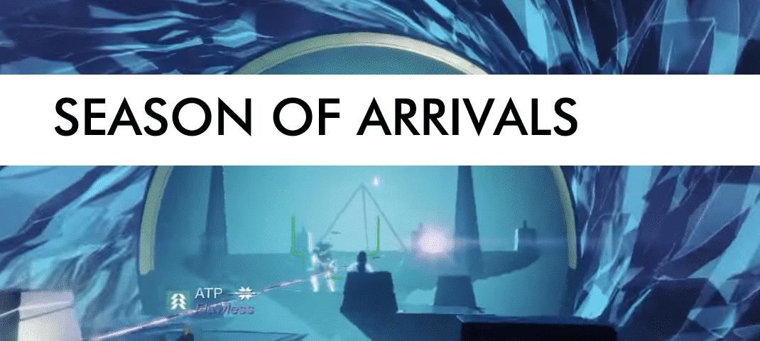 season of arrivals post image