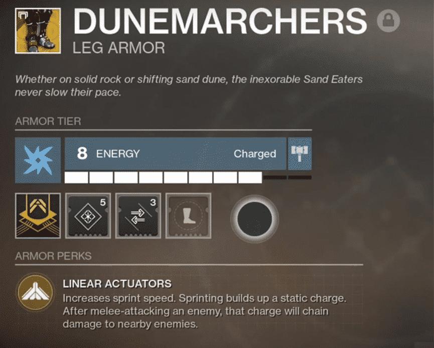 Beyond Light Destiny 2 DuneMarchers