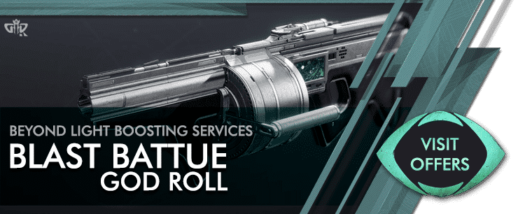 Destiny 2 Blast Battue God Roll Carry - Beyond Light Boosting services Offers
