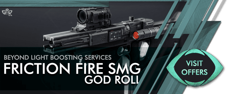 Destiny 2 Friction Fire SMG Carry - Beyond Light Boosting services Offers