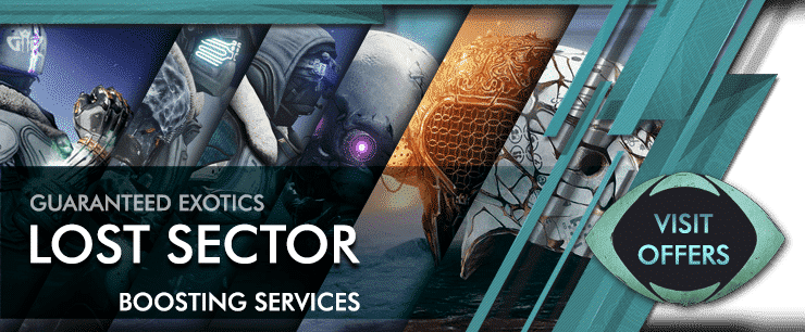 Destiny 2 LOST SECTOR boosting - Beyond Light Boosting services Offers