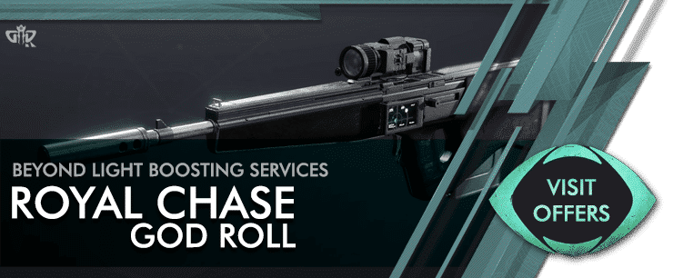 Destiny 2 Royal Chase God Roll Carry - Beyond Light Boosting services Offers