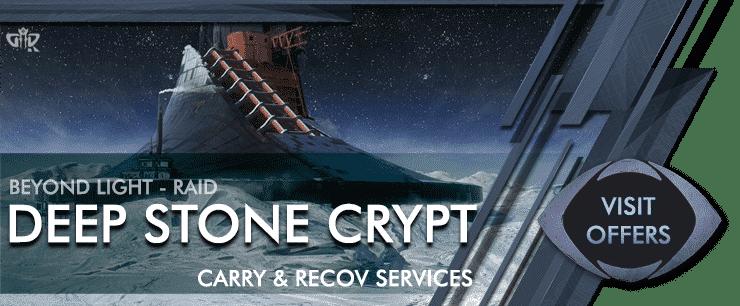 Destiny 2 deep stone crypt Raid Carry - Beyond Light Boosting services OFFERS