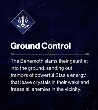 Beyond Light Destiny 2 Ground Control