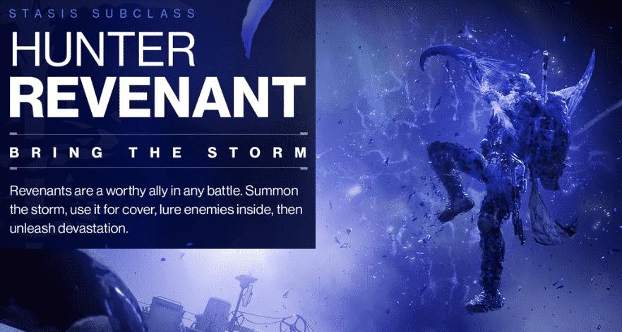 Beyond Light Destiny 2 Hunter Revenant