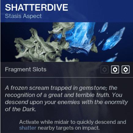 Beyond Light Destiny 2 Shatterdive