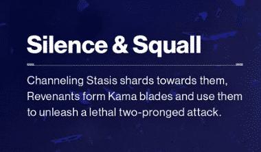 Beyond Light Destiny 2 Silcence & Squall