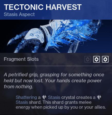 Beyond Light Destiny 2 Tectonic Harvest