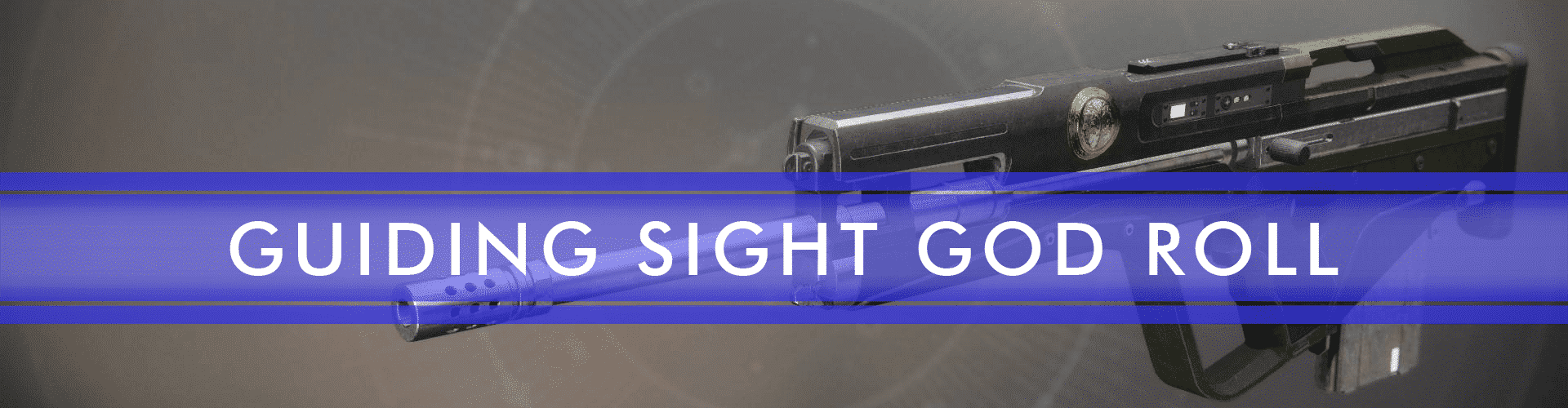 guiding sight god roll boost