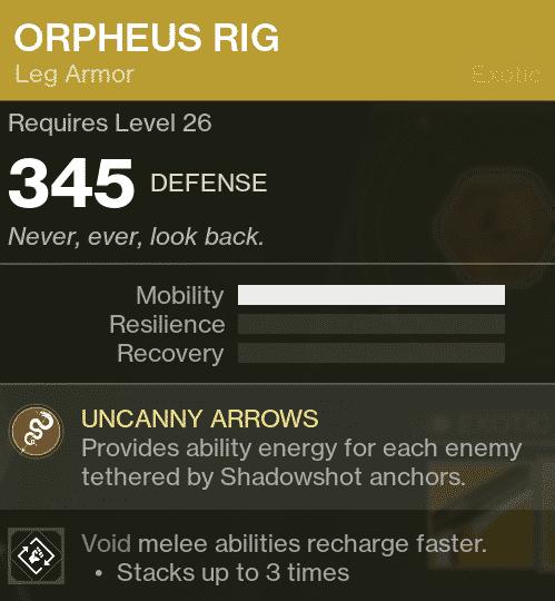 Deep Stone Crypt Orpheus Rig