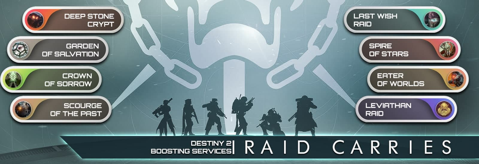 Destiny 2 Beyond Light Raid Carry Boost Services - Destiny2Raiding-min