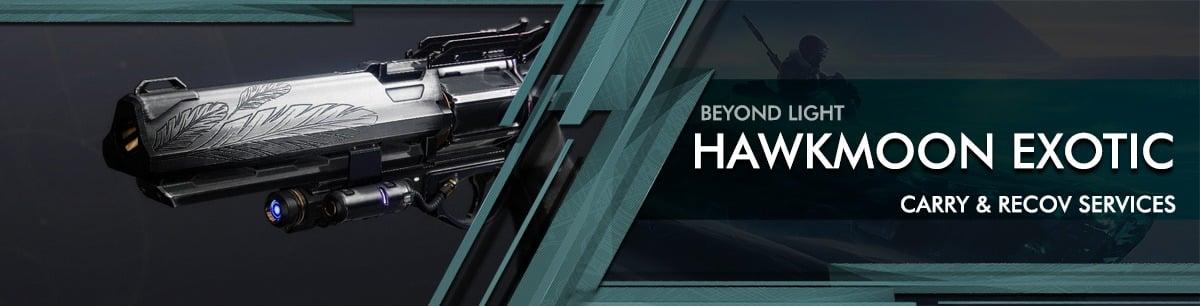 Destiny 2 beyond light hawkmoon exotic Exotics Boost