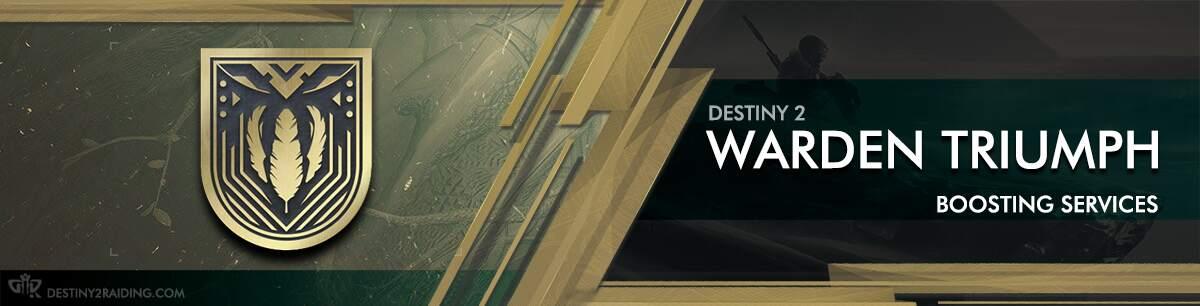 Destiny 2 Warden Triumph Seal - Beyond Light Boosting services 2