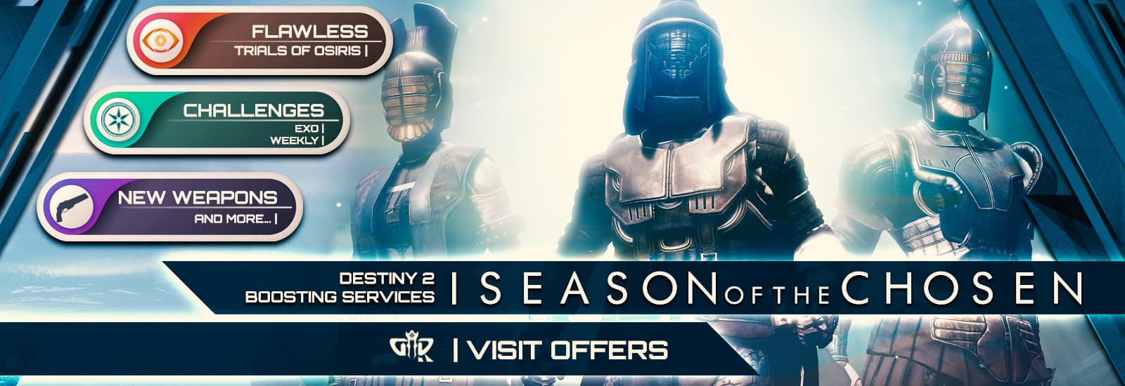 Destiny 2 Season of the Chosen Boosting services - Destiny2Raiding-min