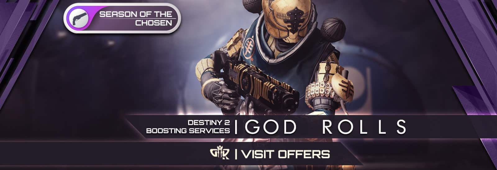 Destiny 2 Season of the Chosen God Rolls Boosting services - Destiny2Raiding-min
