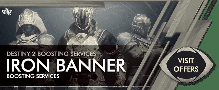 Destiny 2 Season of the Chosen - Iron Banner Carries