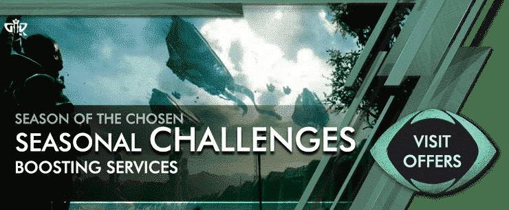 Destiny 2 Season of the Chosen - SEASONAL CHALLENGES Offers-min