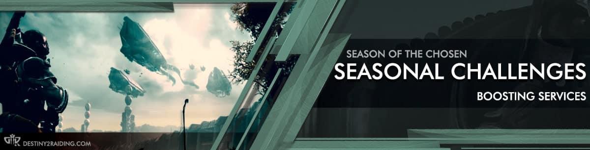 Destiny 2 Season of the Chosen - Seasonal Challanges Boost carry recov-min
